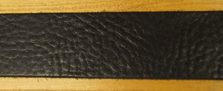 """Leren jeans riem zwart  """" Siergesp  """"   4 cm breed"""