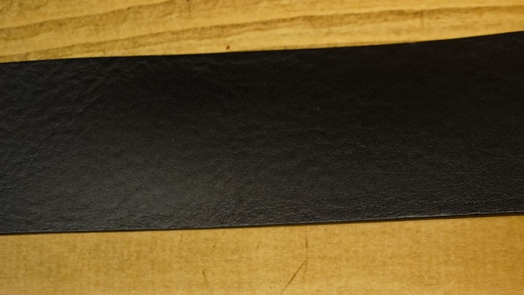 "Leren jeans riem zwart  "" Vittozzi 182  ""  4,5 cm breed"
