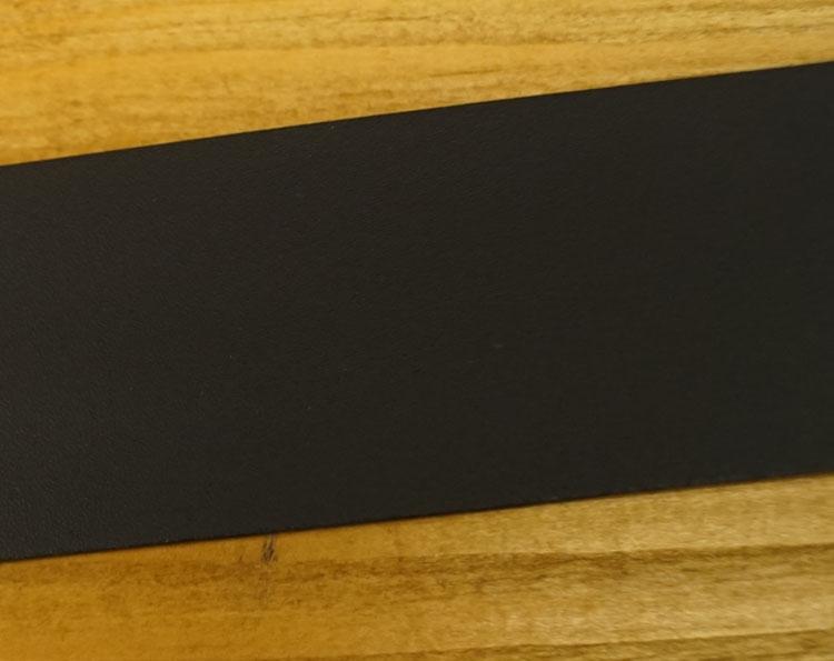 "Leren jeans riem zwart  "" Vittozzi 323  ""   4 cm breed"